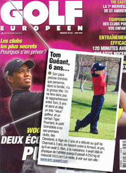 Magazine golf europeen