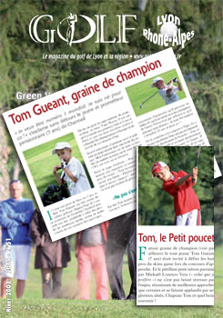 Golf Rhone Alpes Magazine