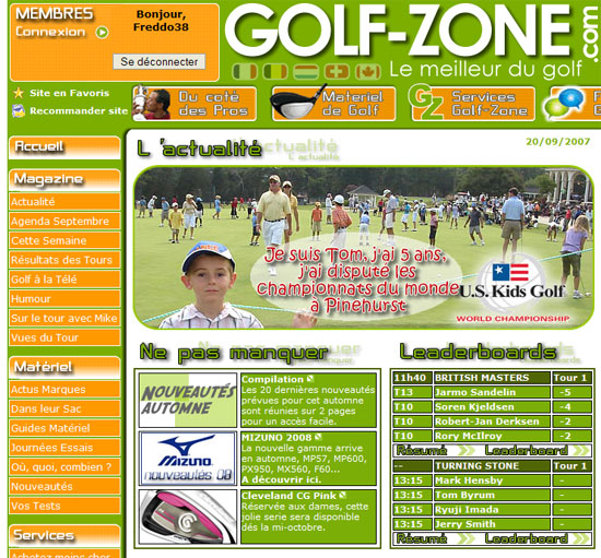 Golf Zone Champion de Golf